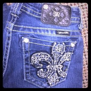 Miss Me Boot cut Jeans size 26 Read